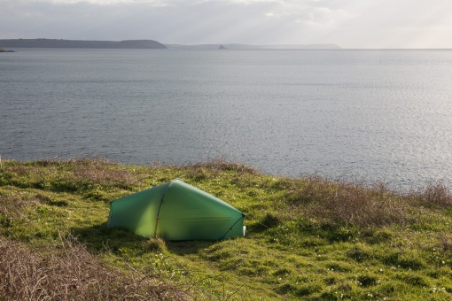 Camp, Porthmellin Head, Cornwall.