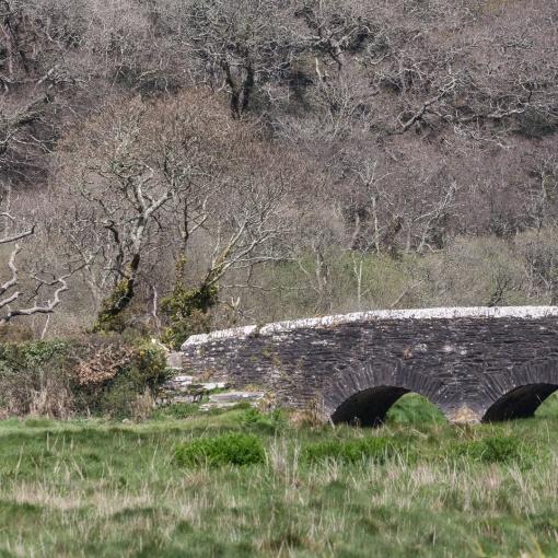 Sett Bridge, River Fal, Cornwall.