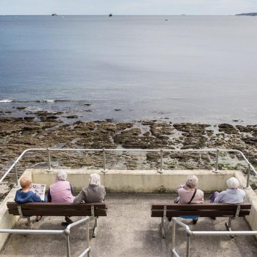 Falmouth Bay, Cornwall.
