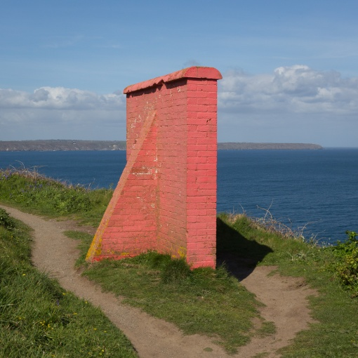 Navigation Marker, Bass Point, Cornwall.