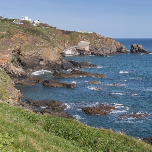 Lizard Point, Mainland Britain's most southerly point, Cornwall.