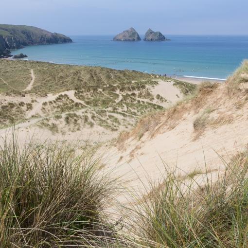 Gull Rocks & Holywell Dunes, Cornwall.