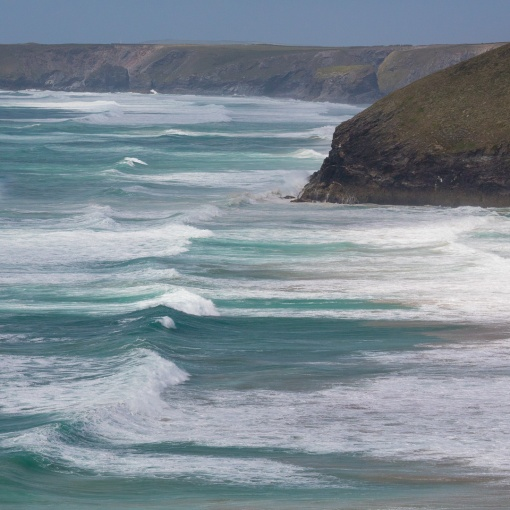 Trenance Point and Mawgen Porth, Cornwall.