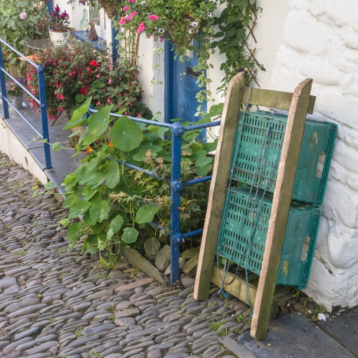 Sledge I, (Used for the delivery of goods) Clovelly, Devon.