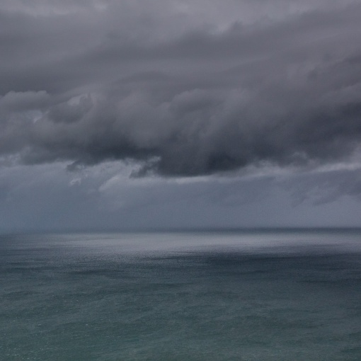 Stormy Sky, The Foreland, Devon.