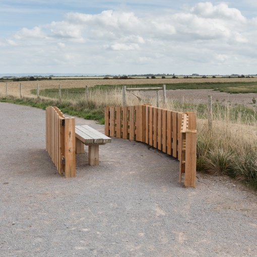 Public Amenity, Steart Marshes, Somerset.