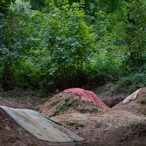 Sand Bay Dirt Jumps IV, Weston Woods, Avon.