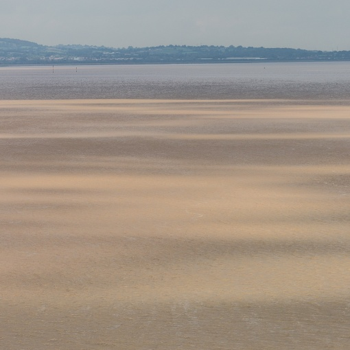 River Severn shadows, Aust, Avon.