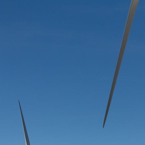 Wind Turbines, Avonmouth, Avon.