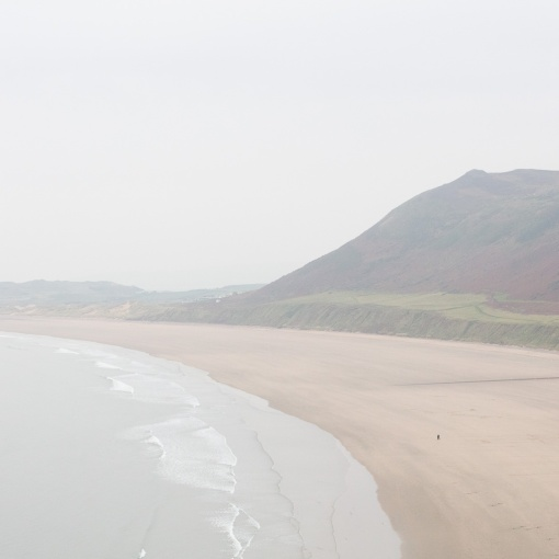 Rhossili Bay & Rhossili Down, Gower, Glamorgan.