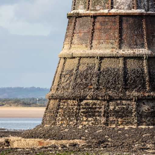 Whiteford Point Lighthouse II, Gower, Glamorgan.