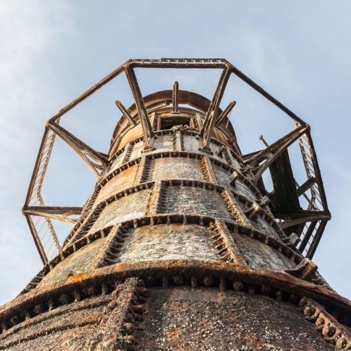 Whiteford Point Lighthouse IV, Gower, Glamorgan.