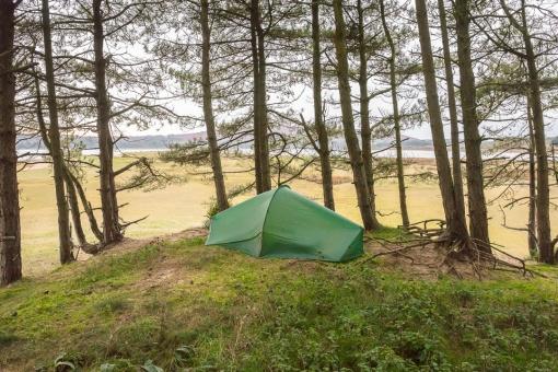 Camp, Berges Island, Gower, Glamorgan.
