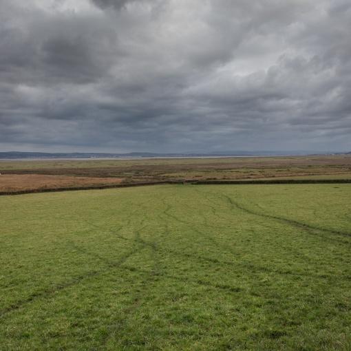 Tracks, Llanrhidian Marsh, Gower, Glamorgan.