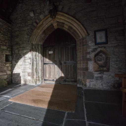 St Mary's Church, Kidwelly, Dyfed.