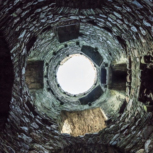 South-East Tower, Kidwelly Castle, Dyfed.