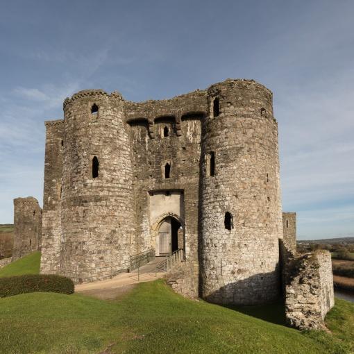 Gatehouse, Kidwelly Castle, Dyfed.