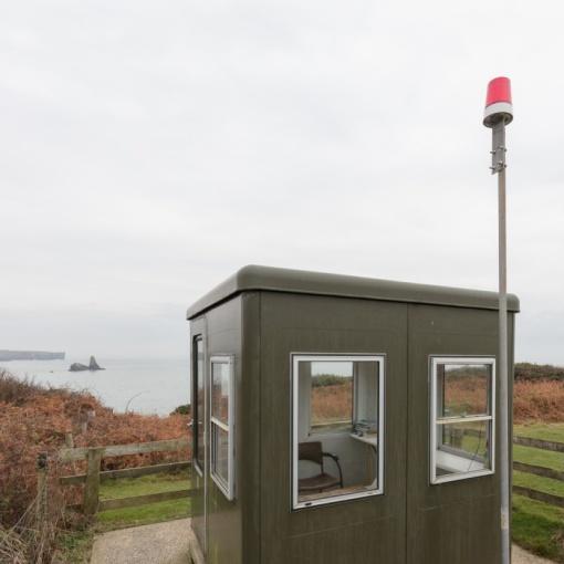 Sentry box, Castlemartin range East, Dyfed.