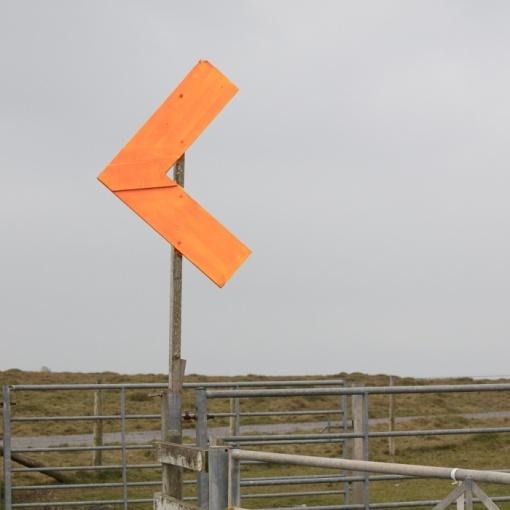 Marker, Castlemartin range East, Dyfed.